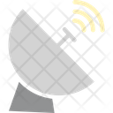 Dish Antenna Parabolic Antenna Radar Icon
