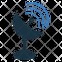 Dish Antenna Satellite Antenna Icon