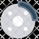 Dish Brake Icon