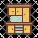 Furniture Dish Cupboard Icon