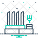 Dish Rack Rack Display Icon