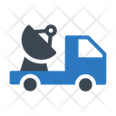 Dish Antenna Space Icon