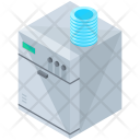 Dish Washer Cleaner Icon