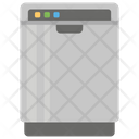 Dishwasher Home Appliance Cleaning Icon