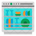 Dish Washer Clean Icon
