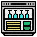 Dish Washer Furniture Icon