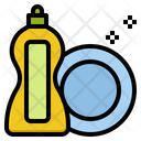 Dish Washing Detergent Icon