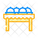 Dishes Tables Food Icon