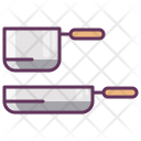 Dishes Lunch Pan Icon