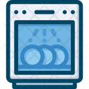 Dishwasher Appliance Kitchen Icon