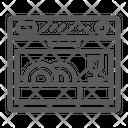 Dishwasher Appliance Kitchen Icon