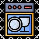 Appliance Dish Dishwasher Icon