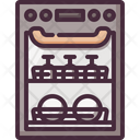 Dishwasher Washer Washer Machine Icon