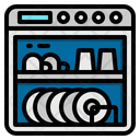 Washer Dishwasher Furniture Icon