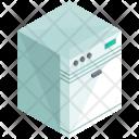 Dishwasher Furniture Isometric Icon