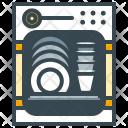Dishwasher Utensil Dish Icon