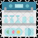 Dishwasher Dishwashing Kitchen Icon