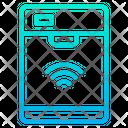 Smart Dishwasher Automation Internet Of Things Icon