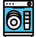 Dishwasher Electronics Appliances Icon