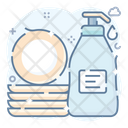 Dishwashing Detergent Dishwasher Liquid Icon