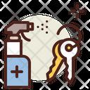 Disinfect Keys Sanitize Keys Sanitize Icon