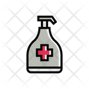Disinfectant Cleaning Chemicals Icon