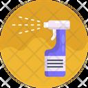 Disinfectant Spray Hygiene Icon
