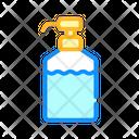 Disinfectant Bottle Pump Icon