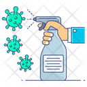 Hygiene Sanitizer Spray Disinfectant Spray Icon