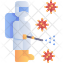 Disinfection Cleaning Surface Icon