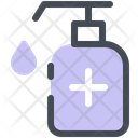 Disinfection Bottle Icon