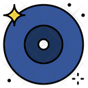 Disk Dvd Blu Ray Disk Icon