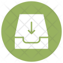 Disk Download Files Icon