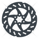 Brake Disk Disc Icon