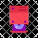 Disk Drive Computer Hardware Icon