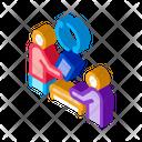 Disk Formatting Renting Icon