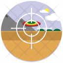 Disk Shooting Focus Icon