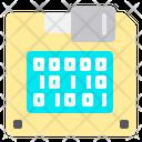 Disket Data Technology Icon