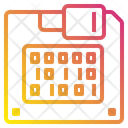 Disket Data Technology Icon