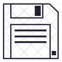 Diskette Data File Icon
