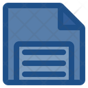 Diskatte Floppy Disk Storage Device Icon