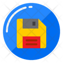 Diskette Save Disk Icon