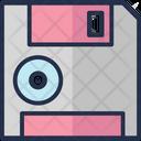 Diskette Floppy Floppy Disk Icon