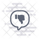 Dislike Unlike Comment Icon