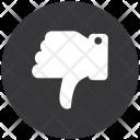 Dislike Down Thumbs Icon