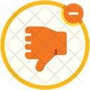 Dislike Thumbs Down Review Icon