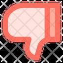 Dislike Thumb Down Icon
