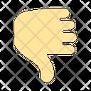 Cursor Hand Thumb Click Icon