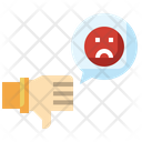 Dislike Bad Review Customer Icon