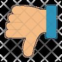 Dislike Bad Finger Icon